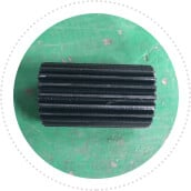 Nylon gear for capping head