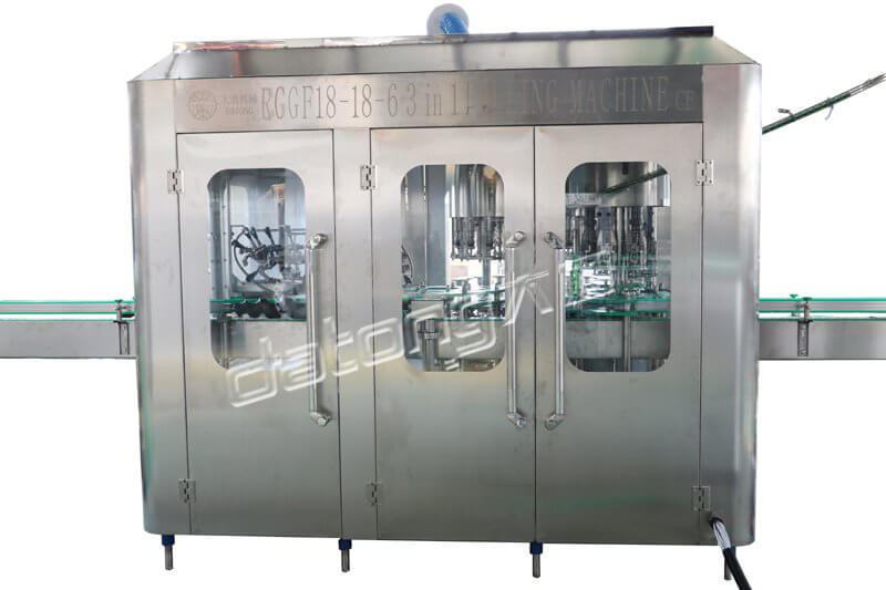 High Quality Juice Filling Machine / Line With Certificate