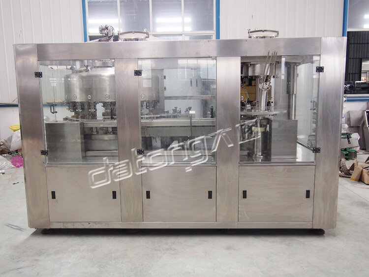 Carbonated Drinks Canning Machine