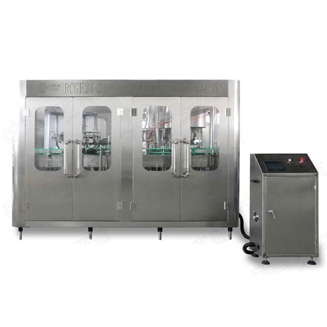 24-24-8 Glass Bottle Juice Filling Machine Of Factory Price