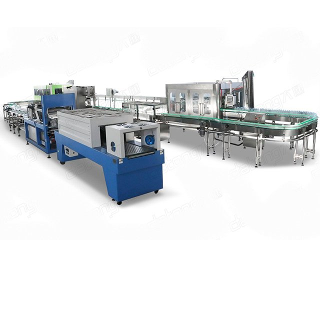 Pure water filling machine equipment water bottle filling line with CE standard