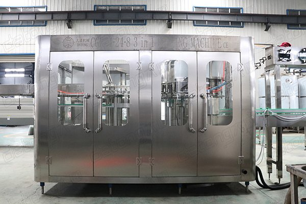 mineral water plastic bottle filling and capping machine line
