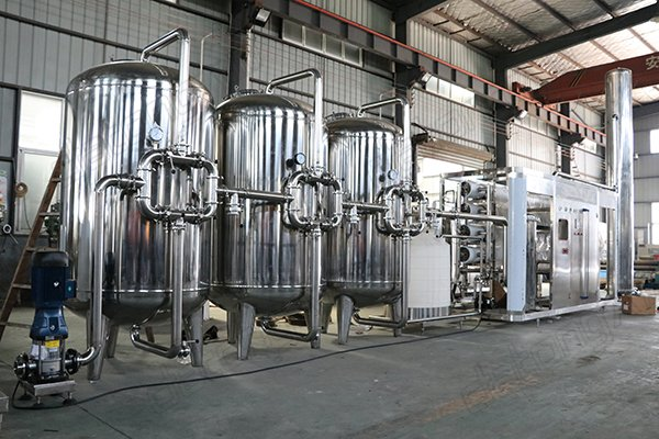 12T drinking water treatment system machine with RO equipment