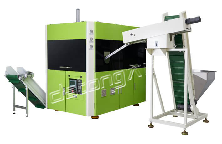 Full Automatic Plastic Bottle Blowing Machine With 3 Cavity For Water Bottle