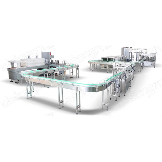 Canned Energy Drink Filling Machine Production Line