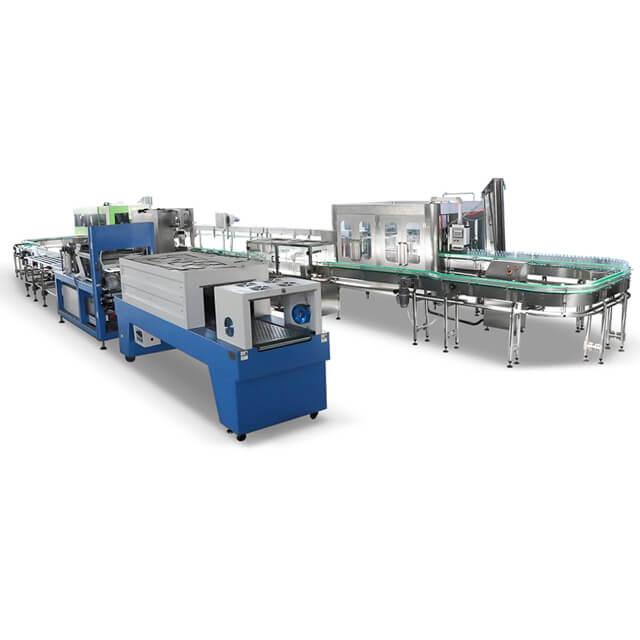 10000BPH Mineral Water Filling Machine Production Line