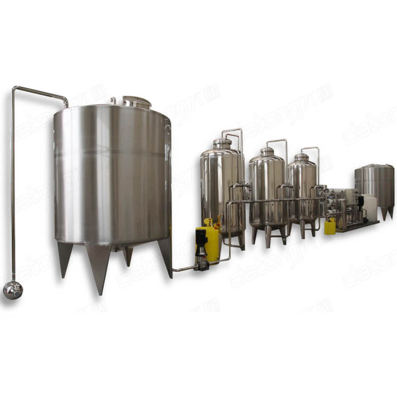 Factory Supplier Water Purification Plant